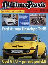 Oldtimer Praxis 5 95 1995 BMW 3.2 CSL Opel GT/J Kapitän Tornax V125  NSU 201 ZDB