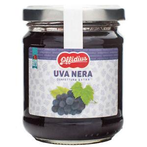 Offidius-Confiture-EXTRA-de-Raisins-Noirs-2x220-gr-Made-in-Italy