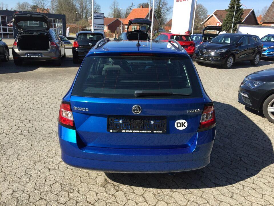 Skoda Fabia 1,2 TSi 90 Ambition Combi Benzin modelår 2015 km