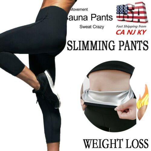Women Sauna Weight Loss Slimming,Sauna Suit Workout Neoprene Pants SIZE M//L UK