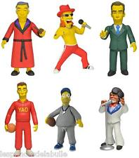 "Full Set of 6 Simpsons 25th Anniversary 5"" Figure Series 1  Les 6 Figurines NECA"