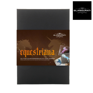Glamourati Equestriana Glitter Quarter Marker Kit FREE UK Shipping