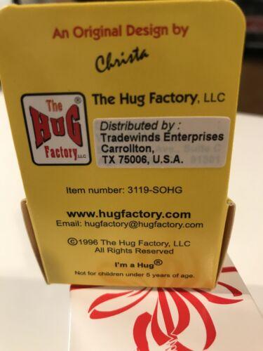 """/""""I/'m a Soccer Hug/"""" The Hug Factory Collectible Figure NIP"""