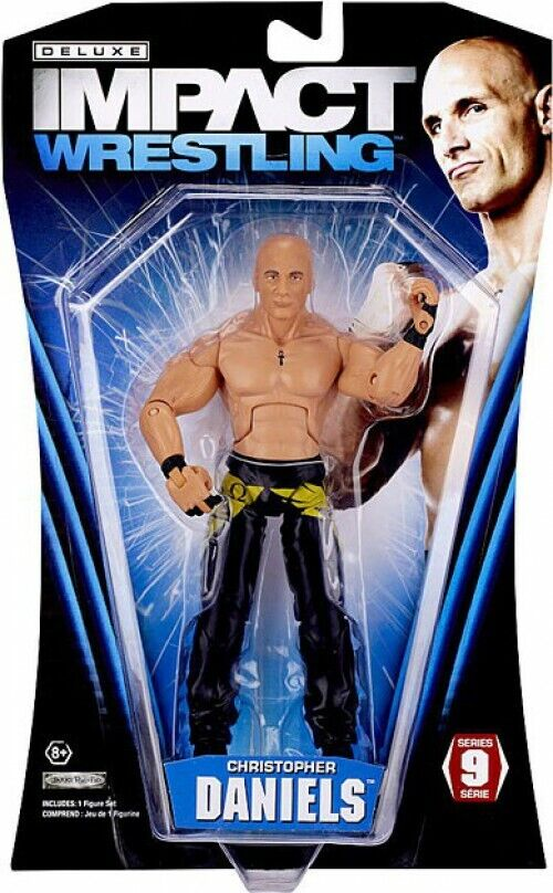 TNA Wrestling Deluxe Impact Series 9 Christopher Daniels Action Figure