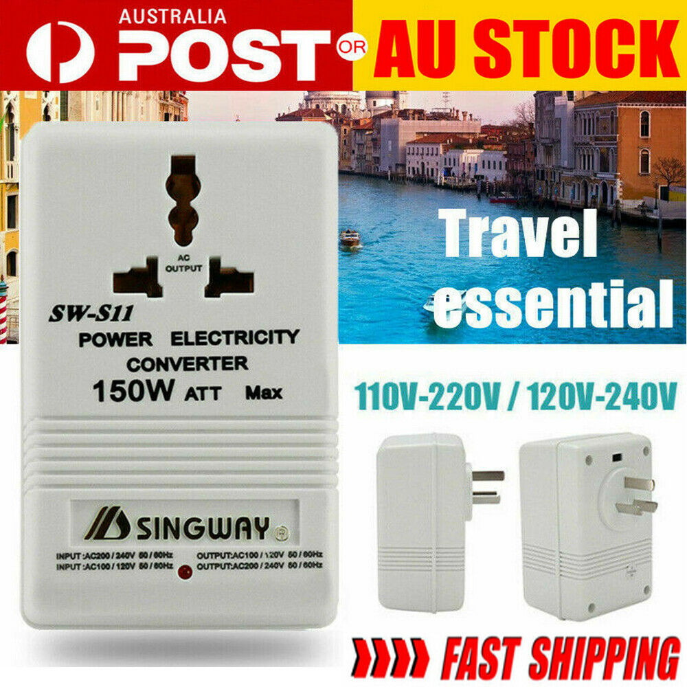 240V-120V 110V 350W Power Supply Stepdown Transformer for USA blender Amplifier