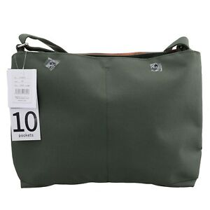 Anello Green 10 Pockets Shoulder Fashion Cross-Body Message Tablet ... 0d50ba810d