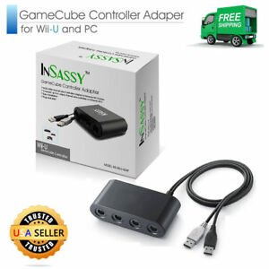 insassy gamecube controller adapter for wii u and pc 780742382380 ebay