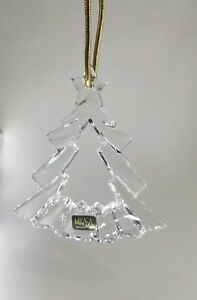 90s Christmas Tree Decorations.Details About Vtg 90s Mikasa German Germany Crystal Christmas Tree Decor Ornament Collectible