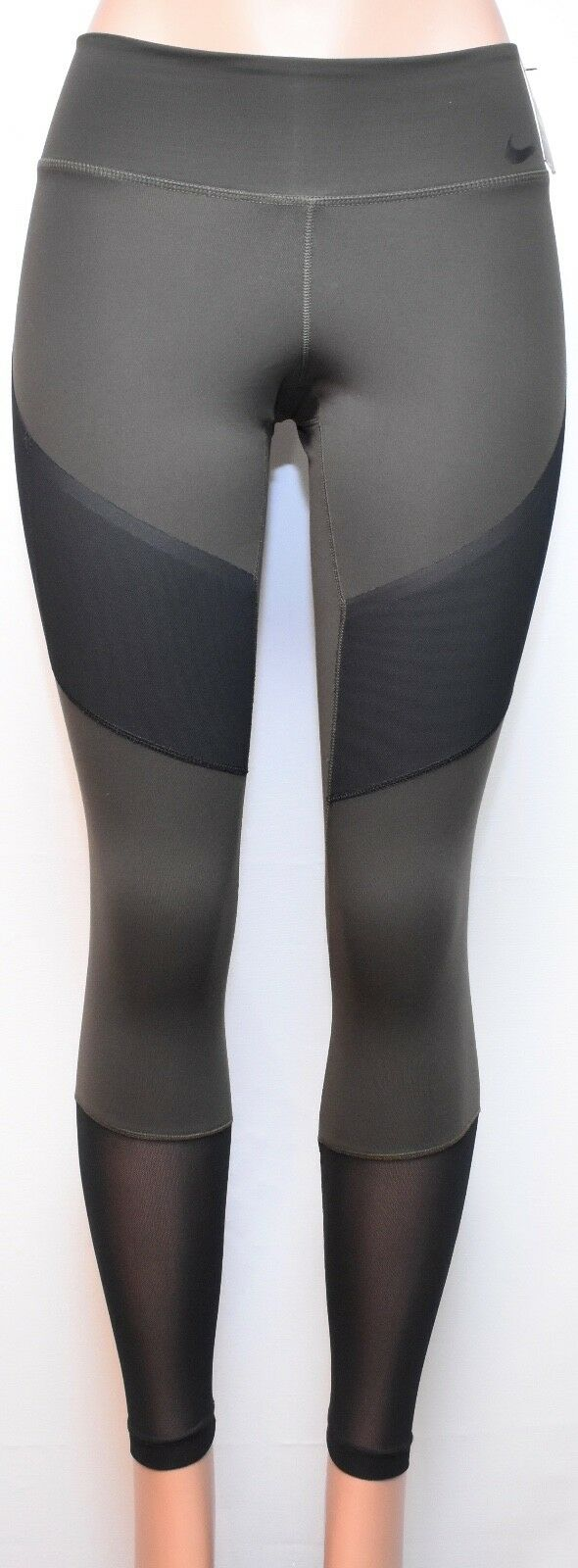 NIKE Legendary Mid Rise Tight-Fit Active Leggings (833718-355) Small Size
