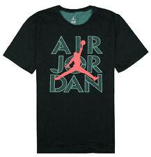 Jordan Jumpman Air Dri Fit Black Graphic Tee T Shirt Mens X Large
