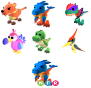 Fossil Pets Adopt Me Pets Legendary And More Decreased Prices Cheapest Ebay