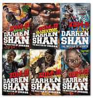 Darren Shan Zom-B Series Collection 6 Books Set ZOM-B, Angels, City, Underground