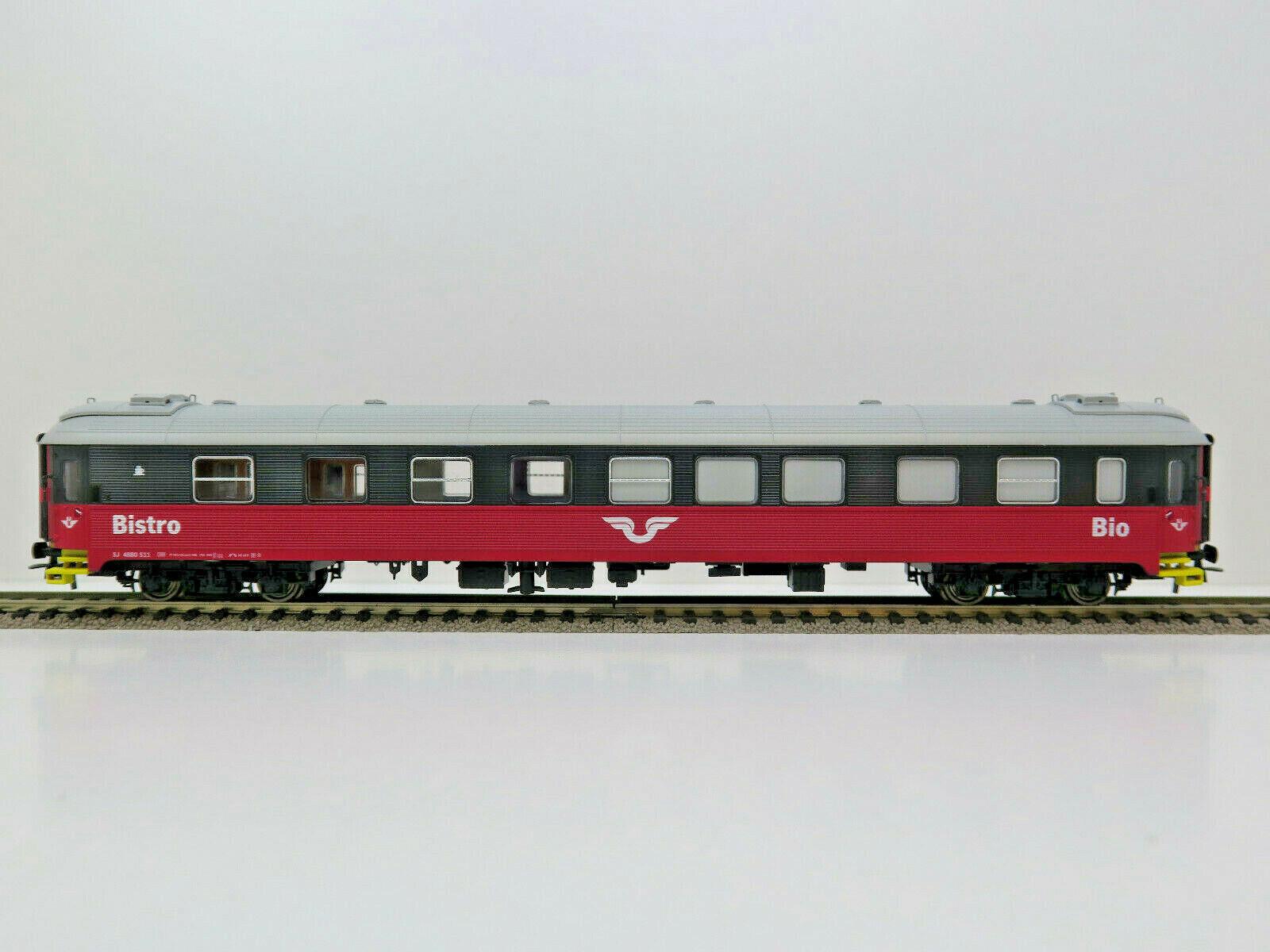Kino Bistro Personenwagen,SJ,Schweden,Ep.III-V,NMJ Topline HO,202.502,OVP,NEU      Zuverlässige Qualität  7b6dc3