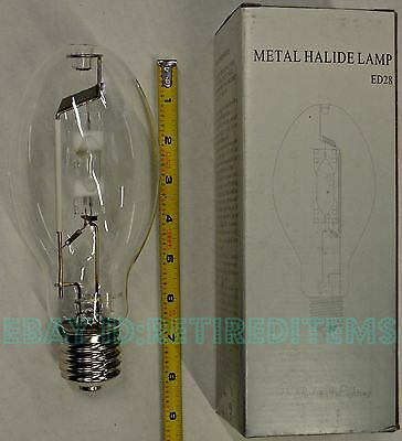 METAL HALIDE LAMP 175 W WATT Mogul Base E39 ED28 MH175/U/4K/MOG m57 light bulb