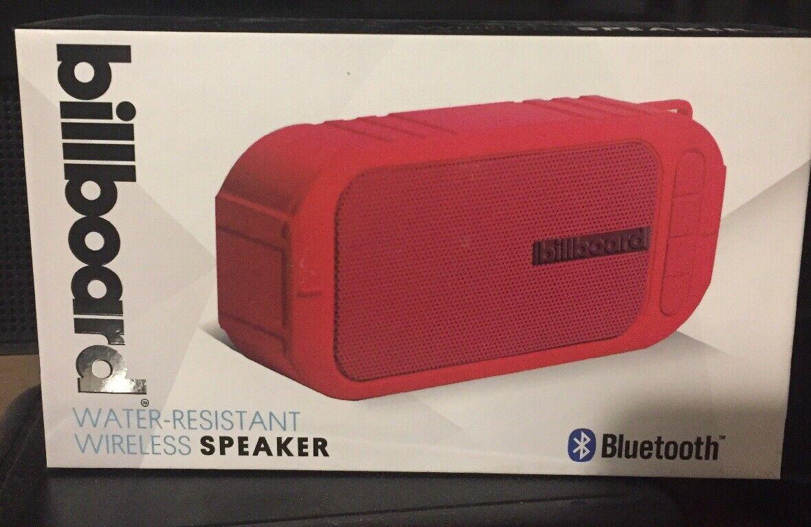 Billboard Bluetooth Speaker Radio Mode
