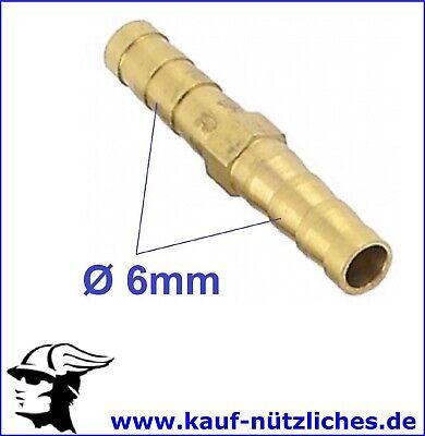Angemessen 6mm Verbinder Gerade Wasser Druckluft Schlauch Stutzen Schlauchtülle Fitting Bequem Und Einfach Zu Tragen