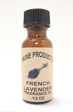 FRENCH LAVENDER 1/2 oz Fragrance Oil for diffuser or potpourri Paine's Products