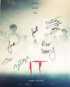 IT-7X-CAST-signed-16x20-Poster-Finn-Wolfhard-Jack-Dylan-Grazer-JSA-COA-477-418