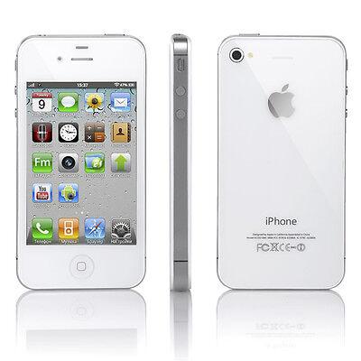APPLE iPhone 4S 8GB White Smartphone Sim Lock Free UNLOCKED - SEALED - iOS 7.0.4