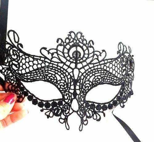 Bulk Lot of 100 pieces Fancy Mask Black Lace Party MARDI GRAS Gift MIXED STYLES