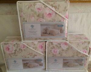 Simply Shabby Chic Dutchess Rose Blossom Twin Full Queen King Duvet Cover Set
