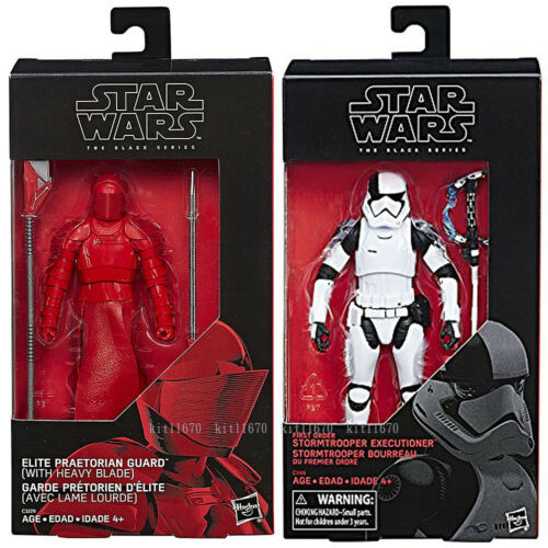 "Praetorian Guard In Stock Star Wars Black Series 6/"" Stormtrooper Executioner"