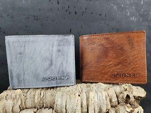 Geldboerse-RFID-Schutz-Portemonnaie-Echt-Leder-Geldbeutel-Herren-Geschenk-Box