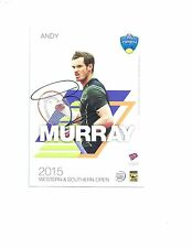 TENNIS ANDY MURRAY signed autographed TENNIS CARD BECKETT COA BAS!