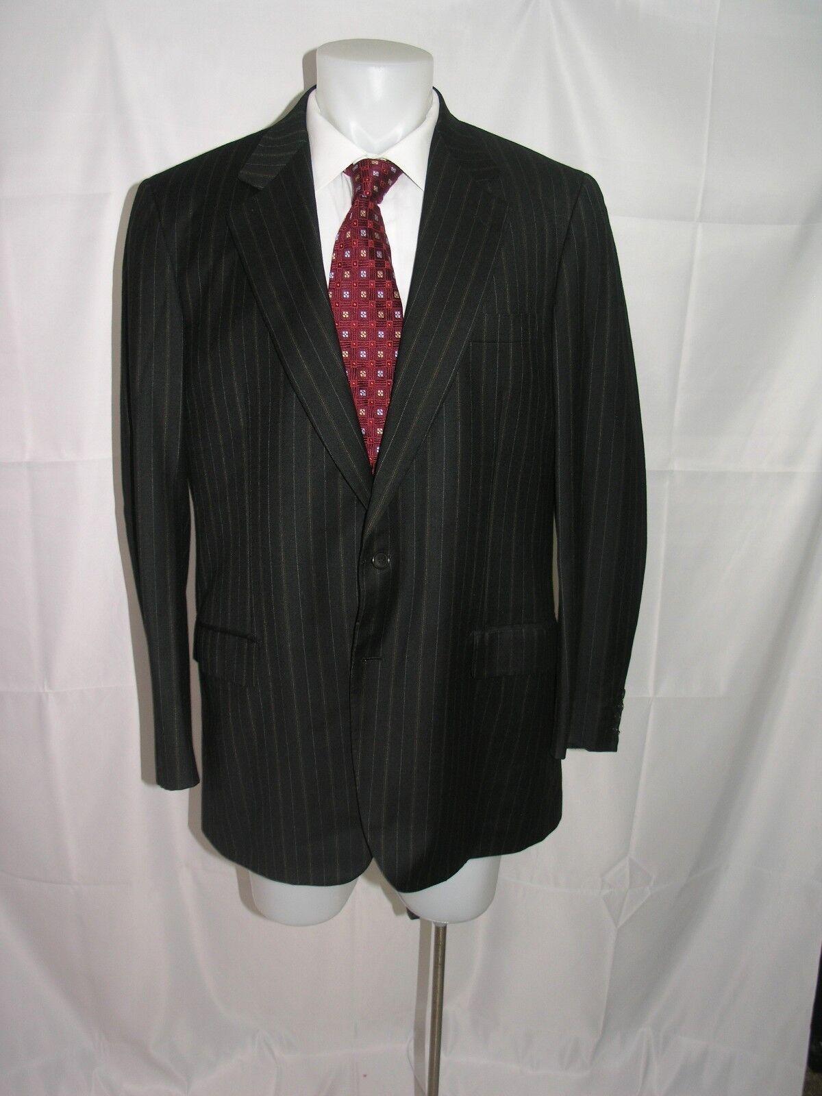 Brioni Palatino Two Button All Season Wool Dual Vented Blazer 44 L