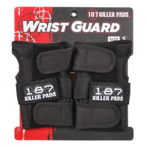 Black Polsiere 187 Killer Pads Pro Skate Wrist Guard
