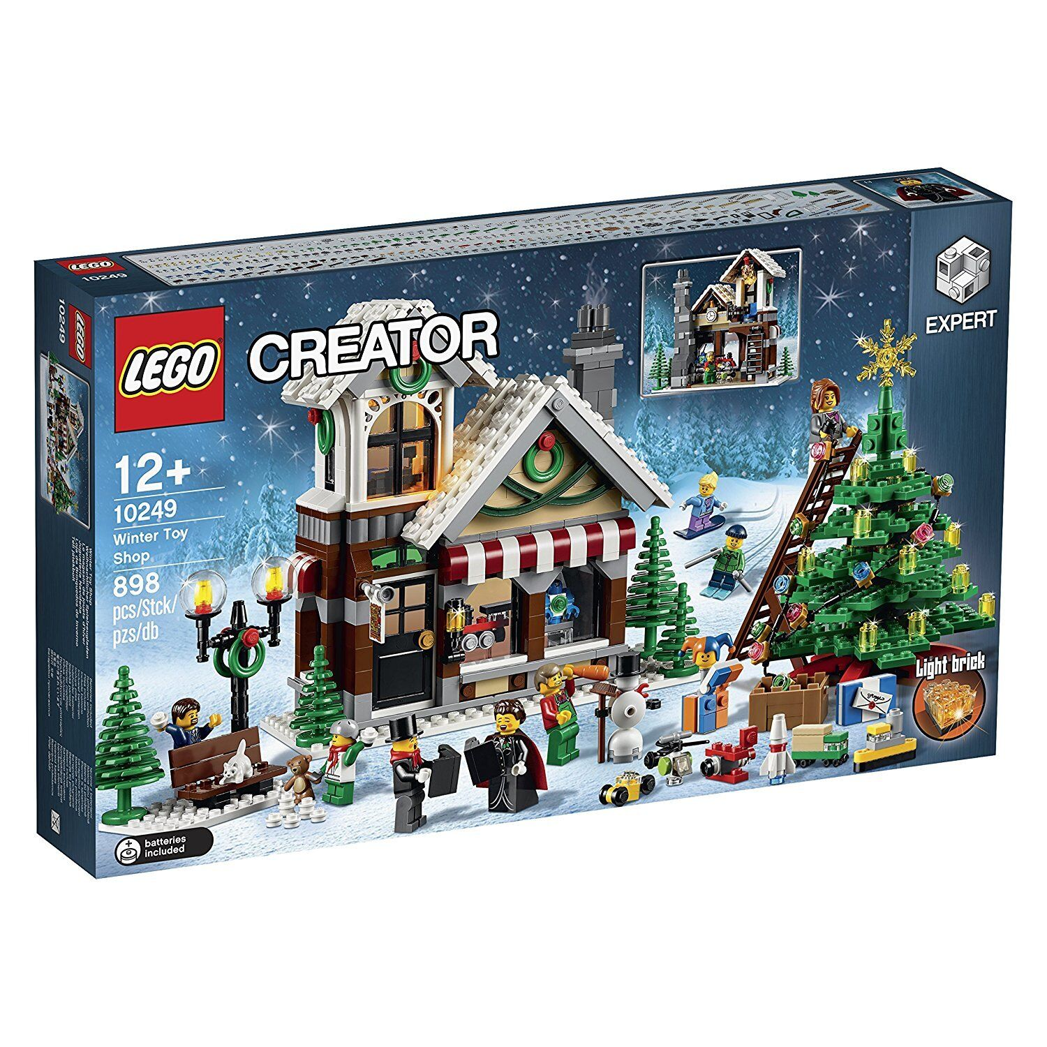 Toy Orsay Shop Lego Hiver ® Jouets Et 10249 Neuf nwyvPN0Om8