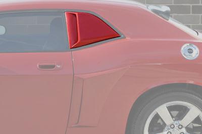 Xenon 12760 Urethane 1//4 Quarter Window Covers Panel Scoops Unpainted