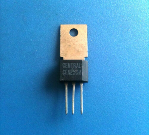 CEN250M1 CENTRAL SEMICONDUCTOR THYRISTOR RECTIFIER 4.0A SCR 600V TO-202