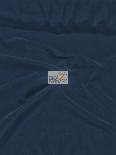 "SOLID TRIPLE VELVET NYLON FABRIC 44/"" WIDTH CLOTHING FASHION DRAPERY 30 YARD ROLL"