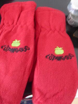 Kinderhandschuhe, Handschuhe,fäustlinge, Neu, Rot Mit Apfelmotiv,viele Farben