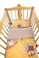 Children Bed Set, Upper Bed 140x200 Cm + Pillow Reference 40x60 Cm, 100% Wool