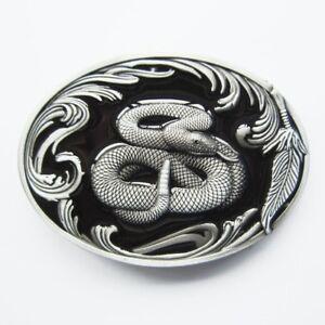 Snake-Western-Belt-Buckle