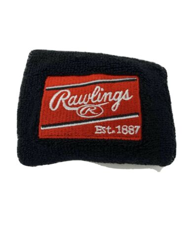 Rawlings Glove Wristband Black