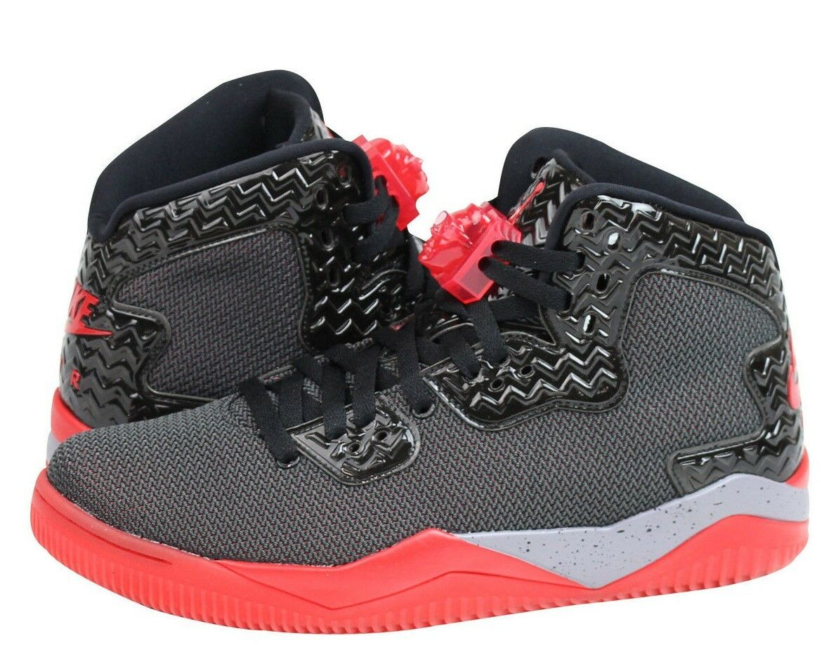 Air Jordan Spike Forty PE Black/Fire Red-Cement Grey 807541-002 New in Box!