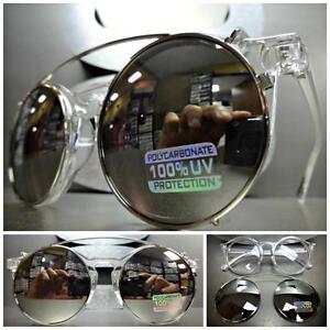 df9e509392ee6 La imagen se está cargando Estilo-Vintage-Lente-Transparente-con-Clip-Gafas -de-