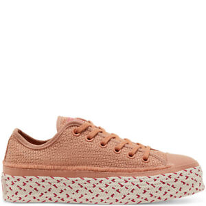 Converse-Chuck-Taylor-All-Star-Size-5-Women-039-s-Shoes-Pink-Espadrille-Trainers