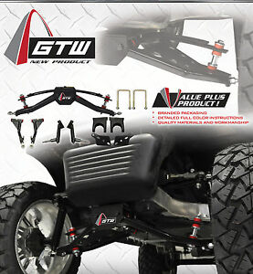 Gtw 6 Double A Arm Lift Kit For Club Car Precedent Golf Carts 2004