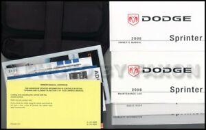 2008 dodge sprinter owners manual 2500 3500 freightliner mercedes rh ebay com 2008 dodge sprinter repair manual 2008 dodge sprinter service manual