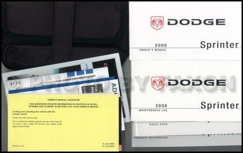 2008 dodge sprinter owners manual 2500 3500 freightliner mercedes rh ebay com 2008 freightliner sprinter owners manual 2008 dodge sprinter owners manual pdf