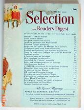 SÉLECTION DU READER'S DIGEST DE DÉCEMBRE 1966