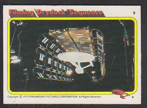 Topps-Star-Trek-The-Motion-Picture-1980-9-Filming-Drydock-Sequence