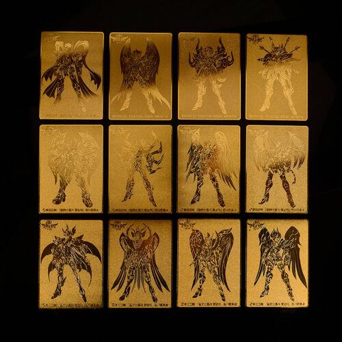 Saint Seiya Cloth Myth Twelve Constellations 24K GOLD CHRONICLE Card Collection