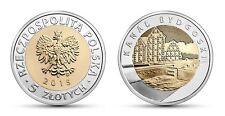 POLAND – NEW ISSUE BIMETAL 5 ZLOTYCH UNC COIN 2015 YEAR Bydgoszcz Canal