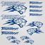 Thundercat-stickers-decal-snowmobile-arctic-cat-snowboard-quad-tuning-helmet miniature 9