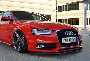 Frontspoiler-Lippe-Schwert-Cup-ABS-fur-Audi-A5-B8-Facelift-S-Line-ab-Bj-2011